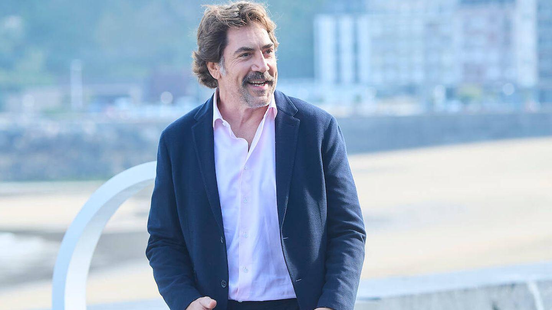 Javier Bardem, en San Sebastián.