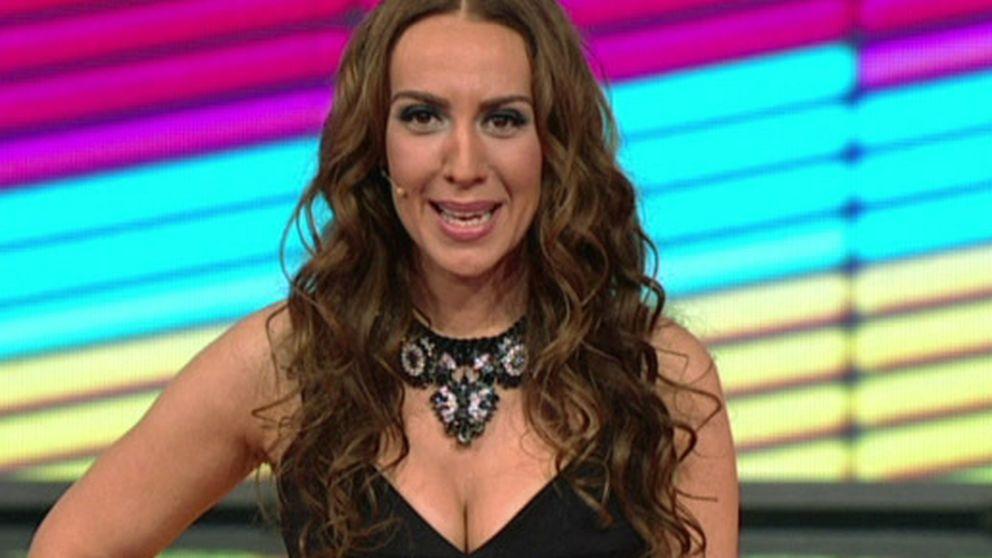 Los primeros pasos de Mónica Naranjo como presentadora