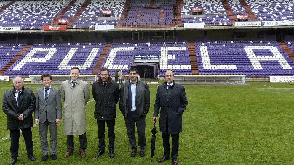 ¿Cómo se transforma un estadio de fútbol como Zorrilla en uno para rugby?