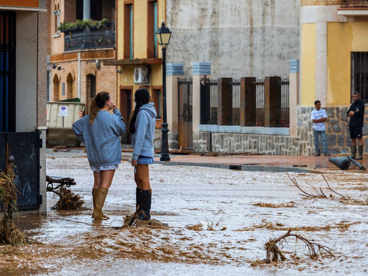 Foto: Inundaciones en Toledo. (EFE)