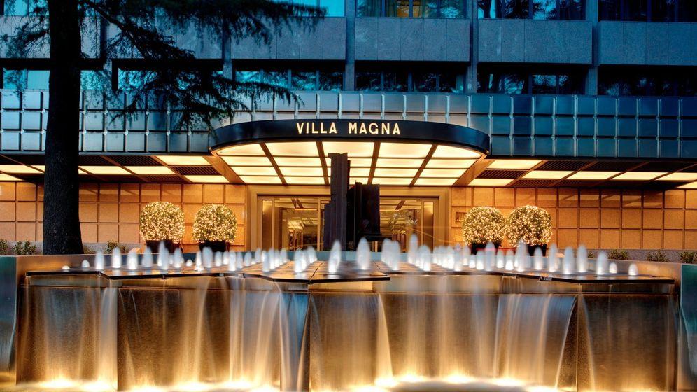 Foto: Entrada principal del hotel Villa Magna. (Villamagna.es)