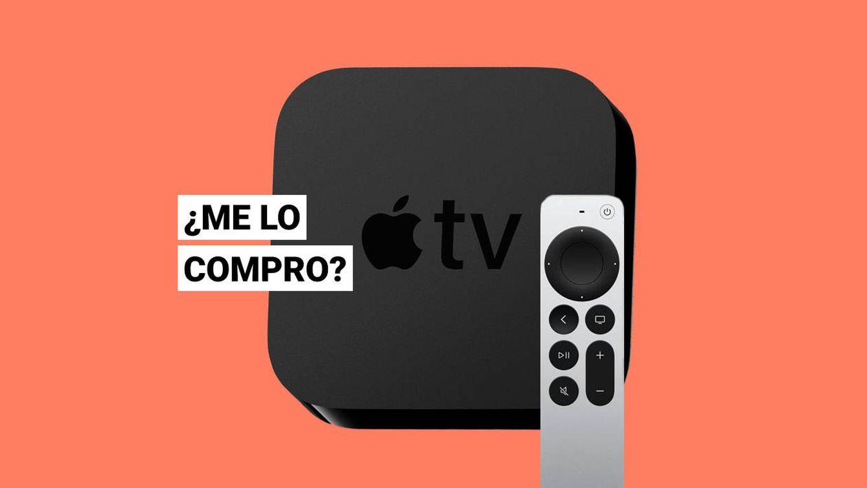 Foto: El nuevo Apple TV 4K 2021 junto al mando rediseñado. (EC)