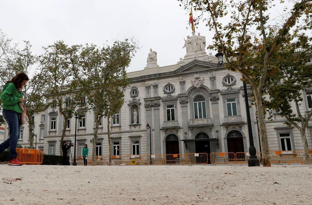 Foto: Vista general del Tribunal Supremo. (EFE)