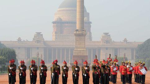 Cambio de guardia indio