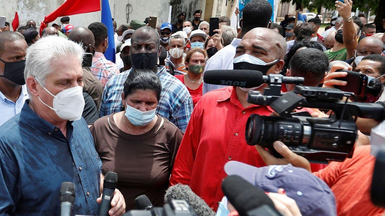Foto: El presidente cubano, Díaz-Canel. (EFE)