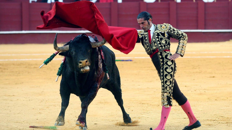 El torero Javier Conde, en la plaza de toros de la Malagueta. (EFE)