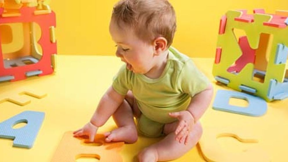 Estimulación temprana para bebés inquietos