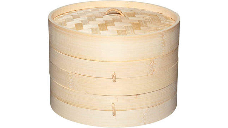 Kitchencraft oriental vaporera de bambú con pisos
