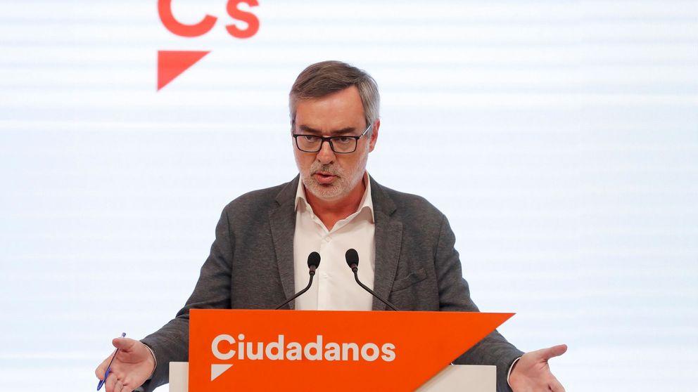 Cs desautoriza a Igea: los pactos en CCAA se mantienen de la mano del PP