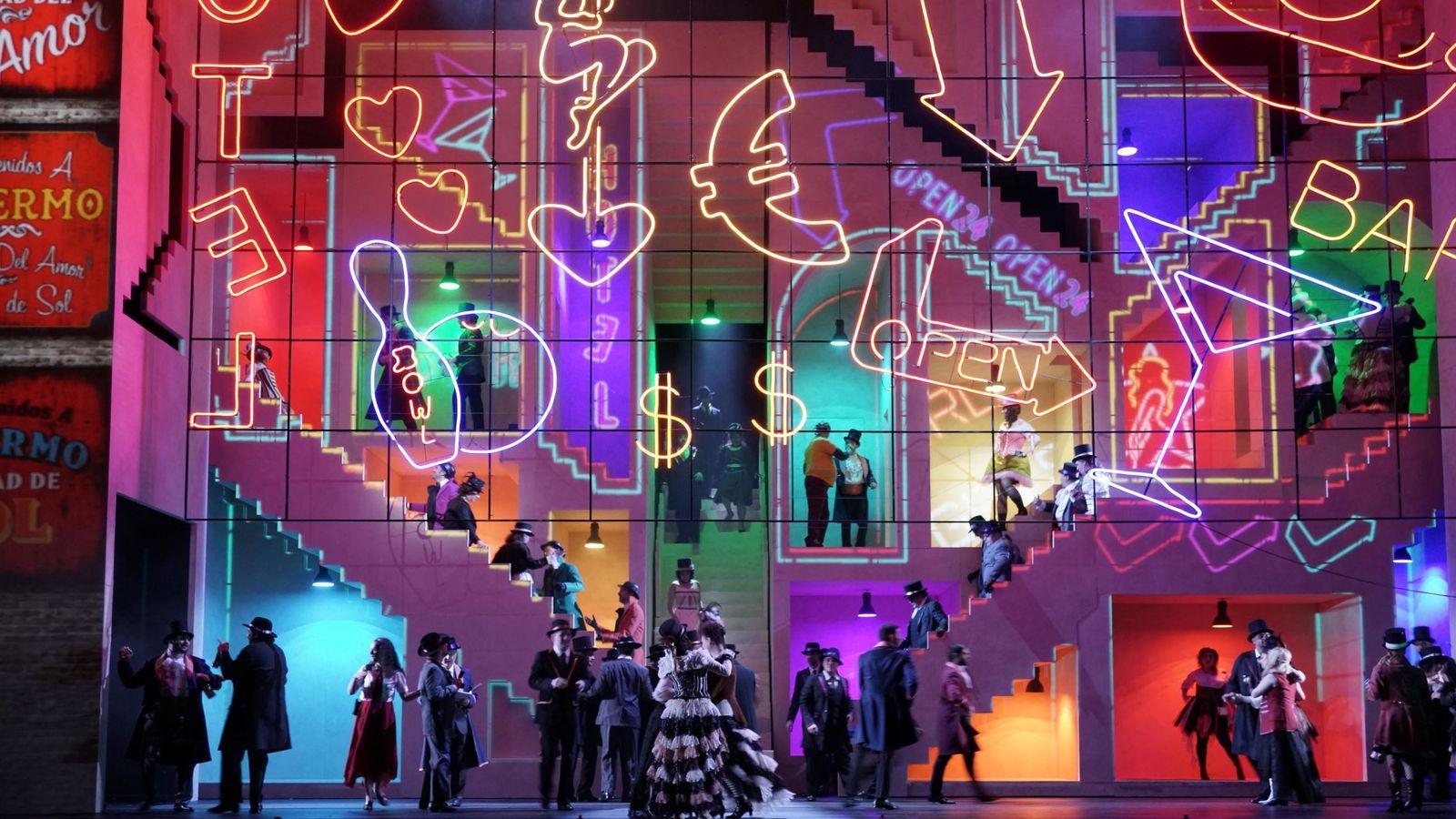 Foto: 'La prohibición de amar' es una coproducción entre el Real, la Royal Opera House de Londres y el Teatro Colón de Buenos Aires (Javi del Real)