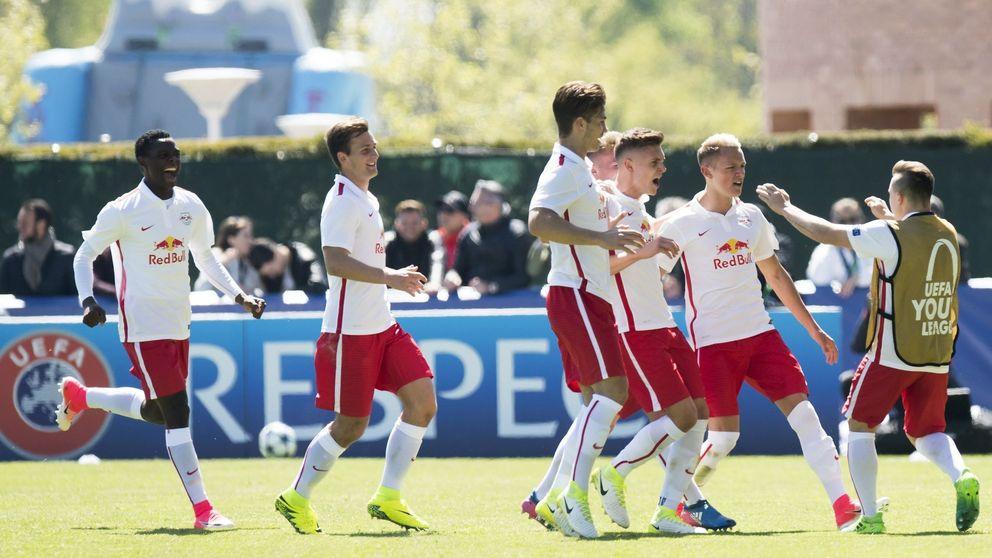 El Barça cae en las semifinales de la Youth League frente al Salzburgo