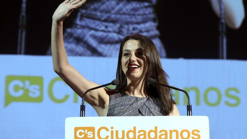 Foto: La candidata de Ciudadanos a la presidencia de la Generalitat, Inés Arrimadas. (EFE)