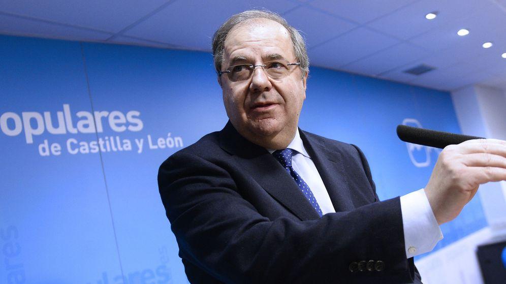 Foto:  El presidente de la Junta de Castilla y León y del Partido Popular en la región, Juan Vicente Herrera. (EFE)
