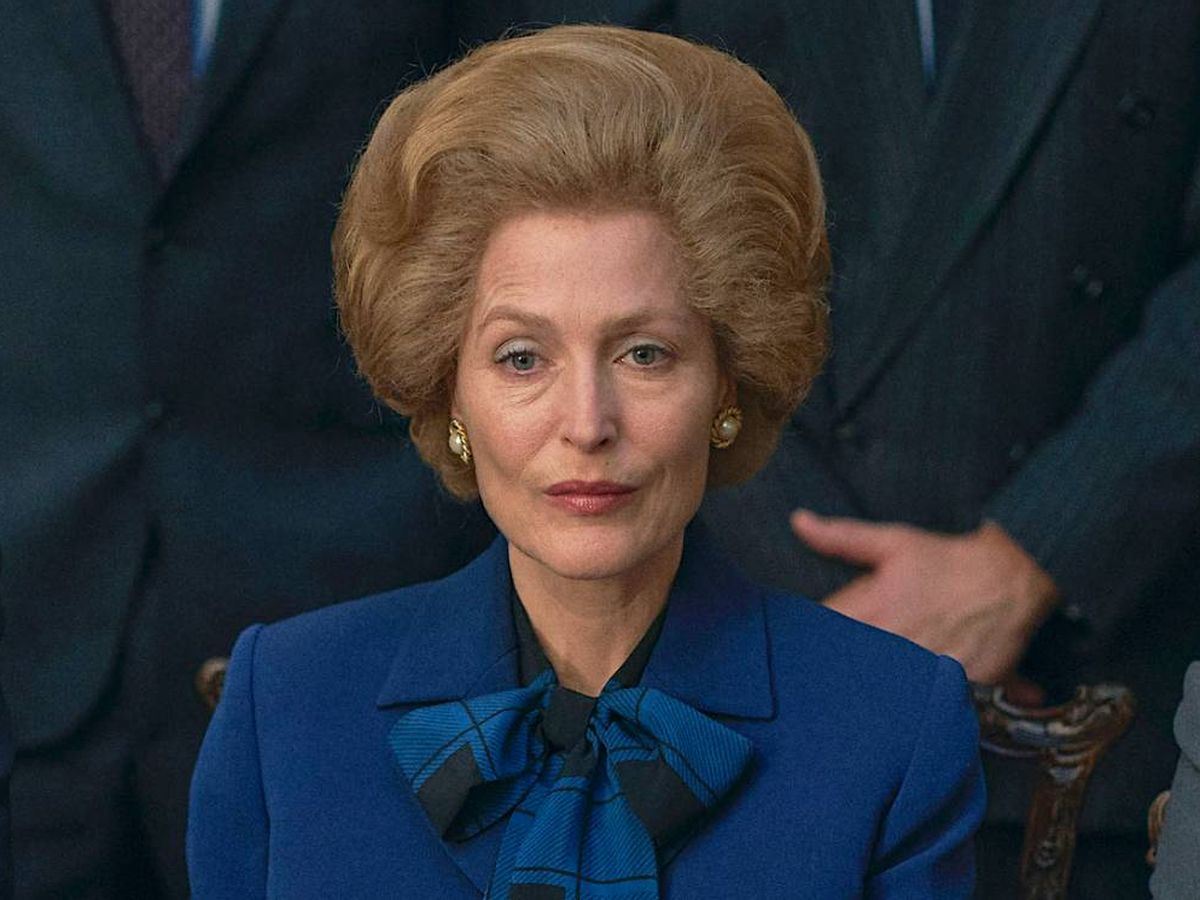 Foto: Gillian Anderson, en 'The Crown'. (Netflix)