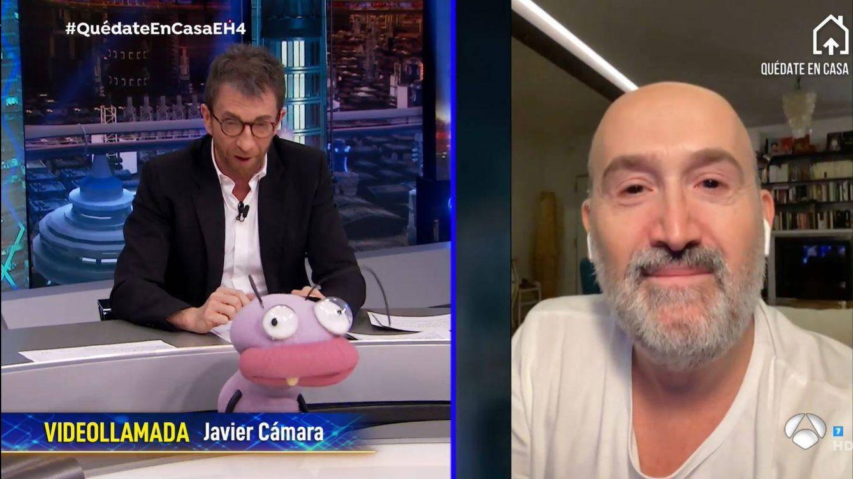 Javier Cámara se emociona en 'El hormiguero' al hablar de la cuarentena: Hay gente que lo está pasando muy mal