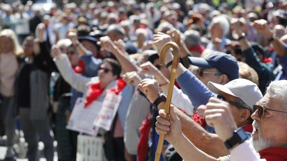 Foto: Jubilados reclaman pensiones dignas (Efe)