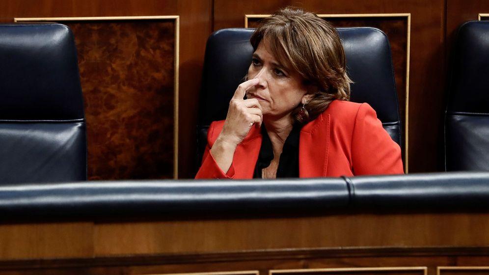 Foto: Dolores Delgado, en el Congreso. (EFE)