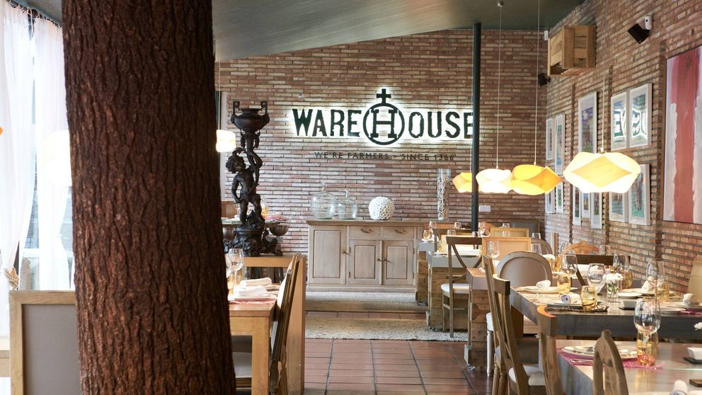 Warehouse: ¿te imaginas comer en un palacete con jardín y viñedo urbano?