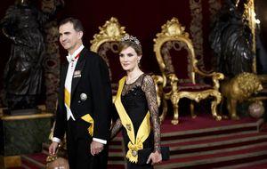 Felipe VI estrena reinado con una recepción 'transversal de la sociedad'