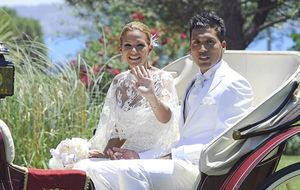La boda de Tamara Gorro y Ezequiel Garay, en imágenes