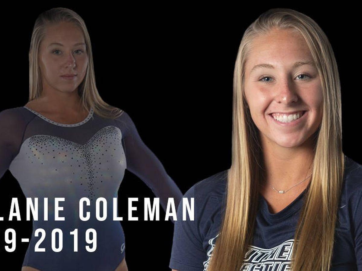 Foto: Melanie Coleman tenía 20 años y era una de las deportistas universitarias más destacadas de Estados Unidos