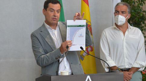 Andalucía ultima un plan ante el riesgo de alcanzar los 3.000 ingresos hospitalarios