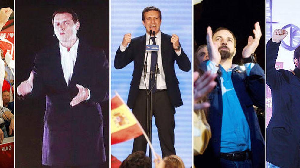 Una campaña de mil frentes: de la reválida de Sánchez a Vox, el quinto elemento