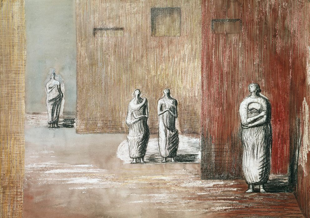 Foto: Four Figures in a Setting (The Henry Moore Foundation)