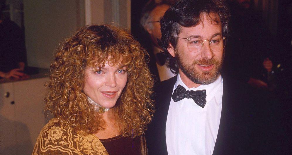 Foto: Steven Spielberg y Amy Irving en una imagen de archivo