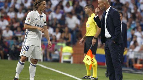 El Madrid y Zidane miman a Modric, la pieza sobre la que se sostiene el equipo