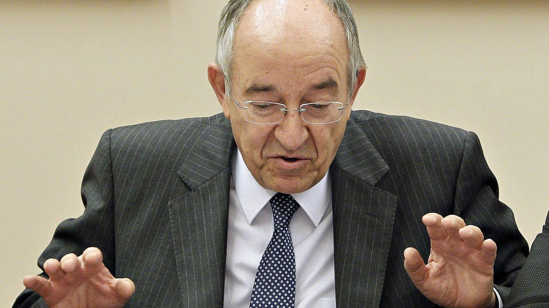 Miguel Ángel Fernández Ordóñez durante su etapa como gobernador del Banco de España. (EFE)