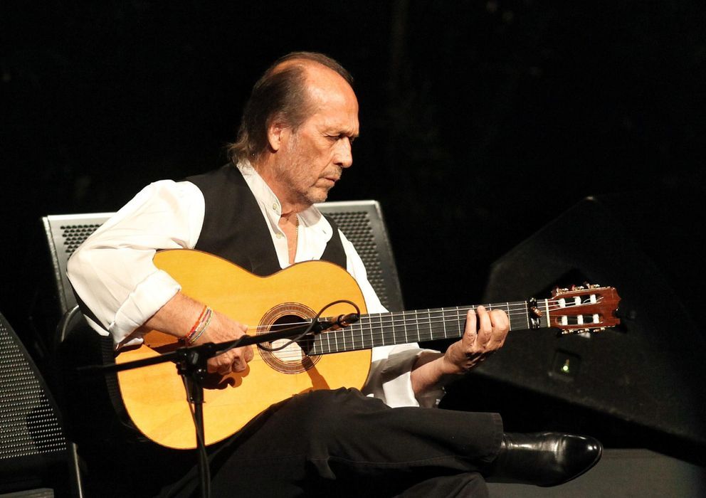 Foto: El guitarrista Paco de Lucía (EFE)