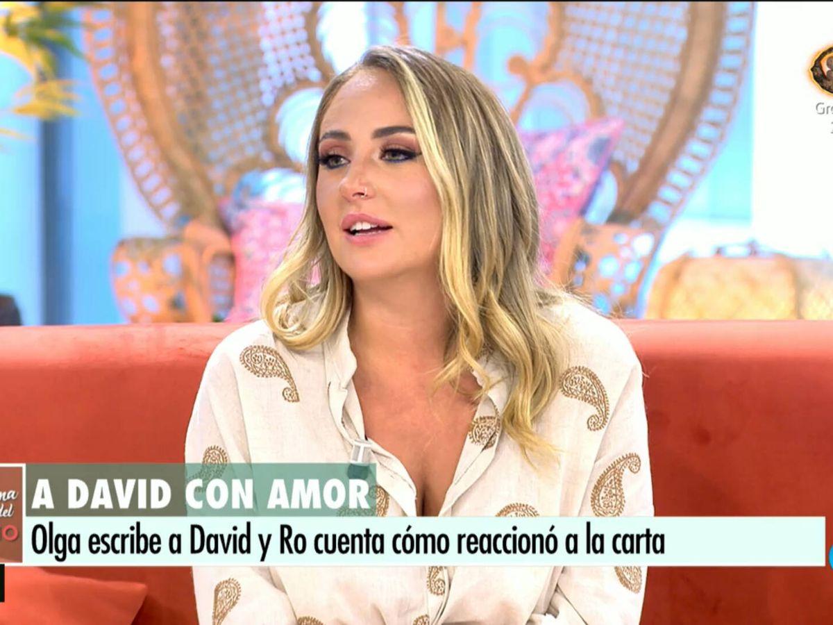 Foto: Rocío Flores, en 'El programa de AR'. (Telecinco)
