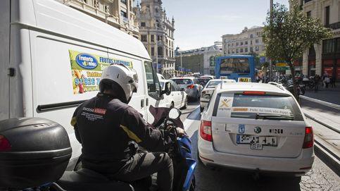¿Día sin coches? Atascos en Madrid, Barcelona y Zaragoza