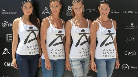 Noelia López, Desiré Cordero y Verónica Hidalgo desfilan en Ibiza