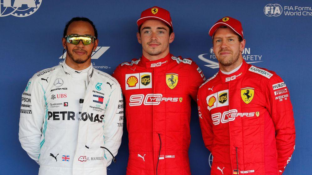 Foto: Charles Leclerc volvió a dominar un sábado más en Ferrari. (Reuters)