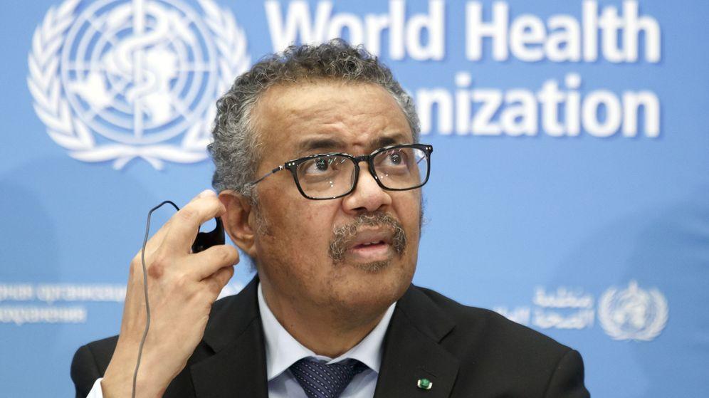 Foto: Tedros Adhanom Ghebreyesus este lunes. (Reuters)