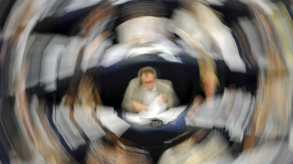 Foto: Sesión plenaria en el Parlamento Europeo. (EFE)