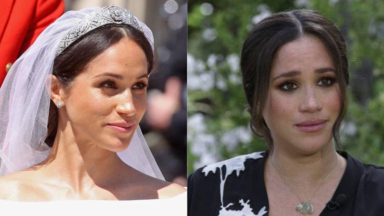 El maquillaje de Meghan Markle lejos de palacio se ha dramatizado. (Getty/Cordon Press)