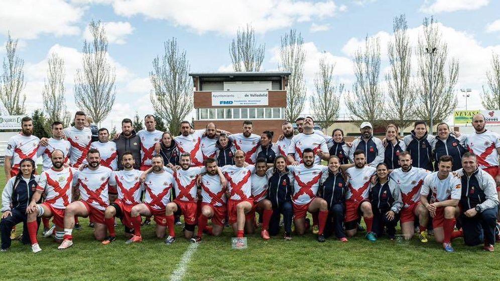 Foto: Imagen de los equipos de rugby de la Brilat.