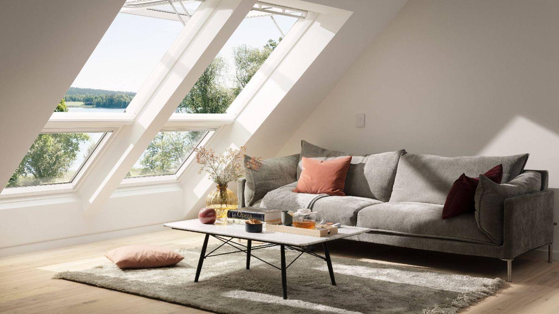 Foto: Velux mejora las sensaciones dentro de una casa, utilizando el sol como principal aliado del bienestar.