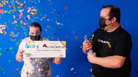 Ganan 34 millones a la lotería y están a punto de perderlos por un descuido