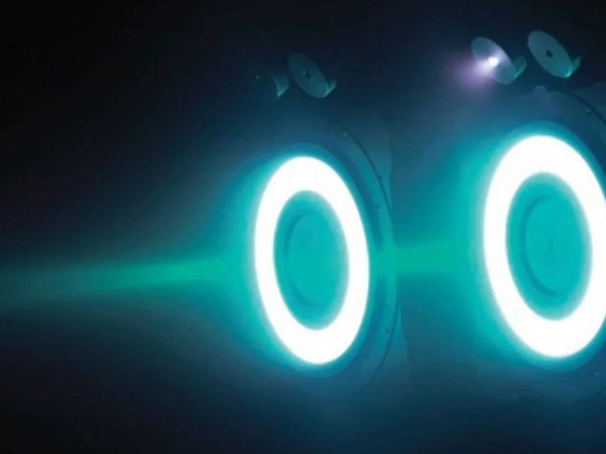 Foto: El motor de iones chino. (SCMP)