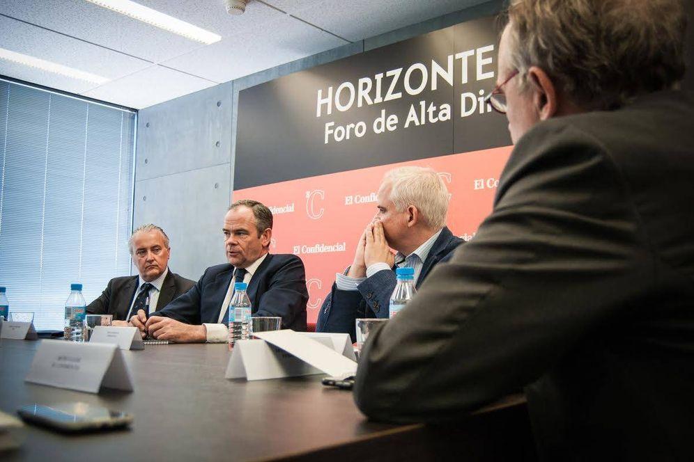 Foto: Íñigo Meirás, consejero delegado de Ferrovial, en el Foro de Alta Dirección PWC-El Confidencial. (Foto: Carmen Castellón)