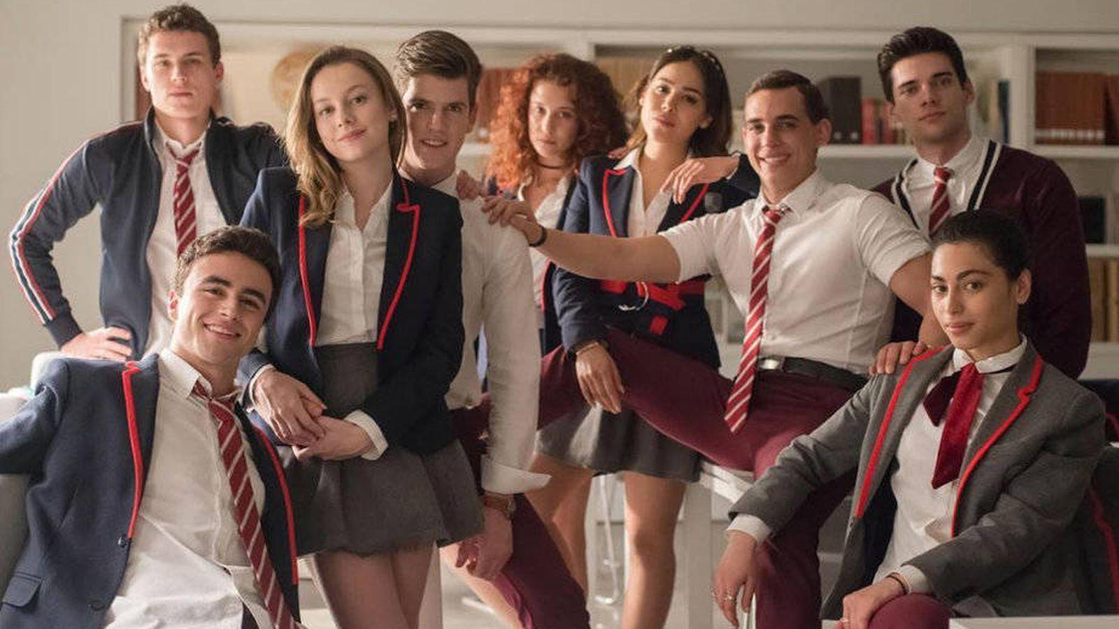 Foto: Actores de 'Élite'. (Netflix)