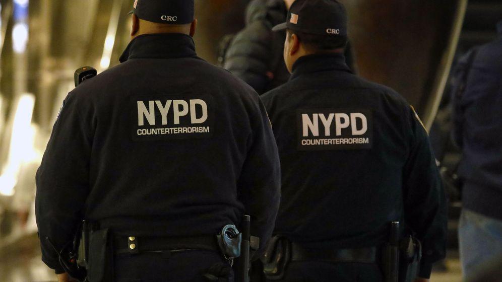 Foto: policía de Nueva York investiga la muer