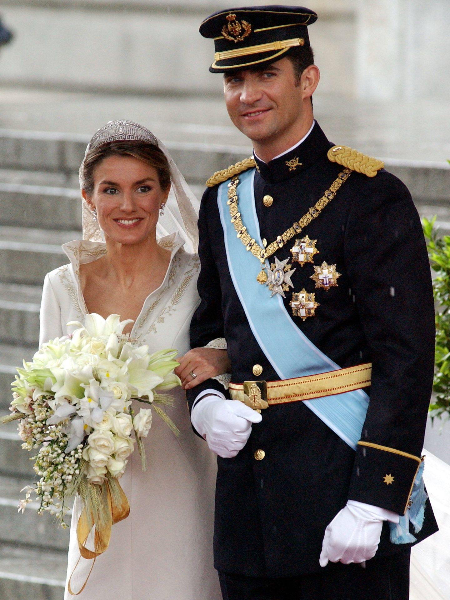 La boda de los Reyes. (Getty)