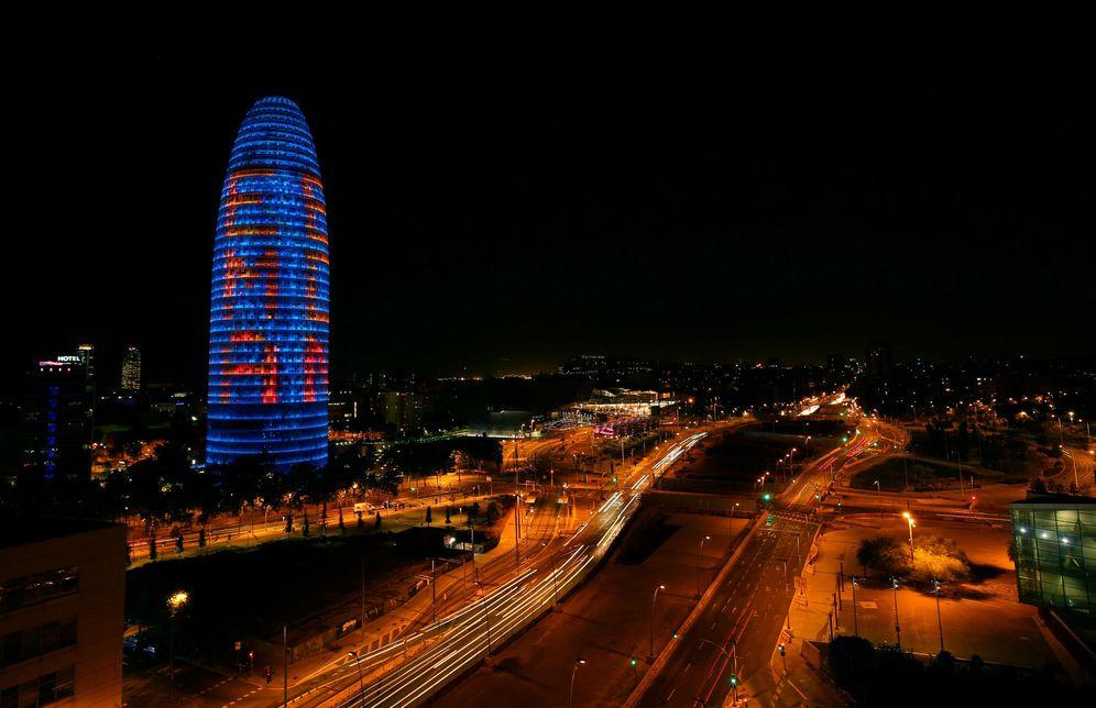 Foto: Vista de la Torre Agbar, en Barcelona. (Reuters)