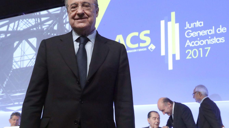 Florentino logra al fin el rating para ACS: Standard & Poor's le otorga BBB