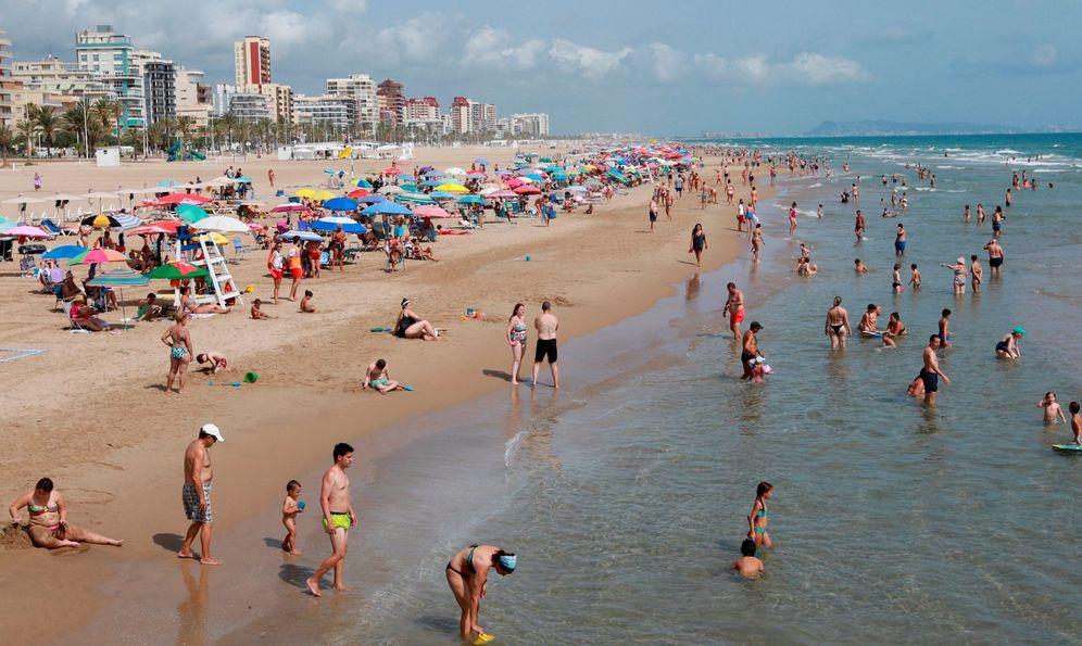 Foto: Playa de Gandía, Valencia. (EFE)
